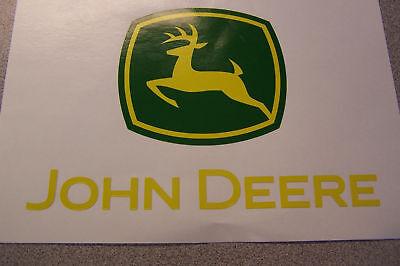 Наклейки и рисунки New John Deere