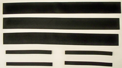 Chevy Truck Hood Support Sponge Seal Set 60 61 62 63 64 66