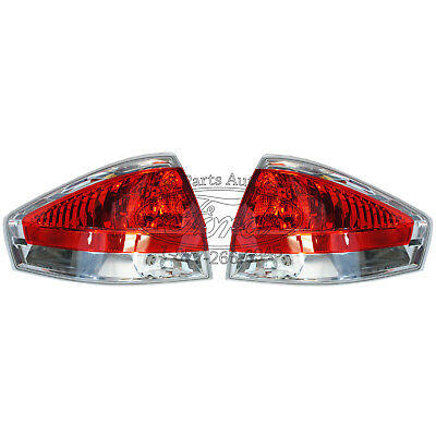 2008-2009 Ford Focus Chrome Tail Light Pair on Sale