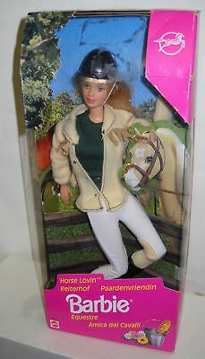#307 NRFB Mattel Horse Lovin Barbie Foreign Box