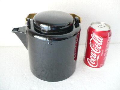 Dansk Jack L. Larsen Midnight Black 6 cup Coffee / Teapot made in Japan