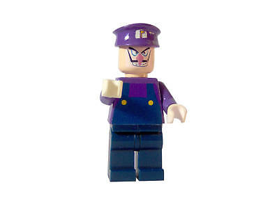 Custom Lego Waluigi Super Mario Bros Nintendo Wii 64