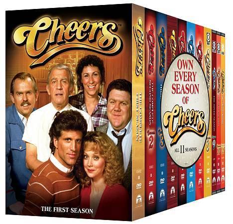 Cheers   The Complete Series (DVD, 2009, 45 Disc Set, Sensormatic