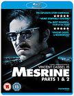 Mesrine - Part 1 And 2 - Killer Instinct / Public Enemy Number 1 (Blu-ray, 2010, 2-Disc Set)