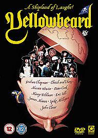 YELLOWBEARD 1983 JOHN CLEESEPETER COOKJAMES MASON  RARE ORIGINAL R2 DVD - Melton Mowbray, United Kingdom - YELLOWBEARD 1983 JOHN CLEESEPETER COOKJAMES MASON  RARE ORIGINAL R2 DVD - Melton Mowbray, United Kingdom