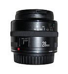 Auto & Manual Focus Wide Angle Camera Lenses 28mm Focal