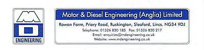 Motor&Diesel Engineering Ltd