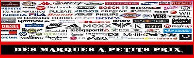 DES MARQUES A PETITS PRIX