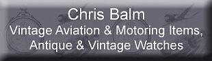 Chris Balm Watches Auto and Aero