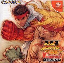 Jeux vidéo Street Fighter pour Combat et Sega Dreamcast