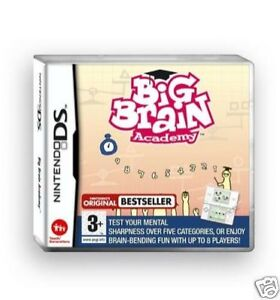 Big Brain Academy Nintendo DS - <span itemprop='availableAtOrFrom'>cirencester, Gloucestershire, United Kingdom</span> - Big Brain Academy Nintendo DS - cirencester, Gloucestershire, United Kingdom