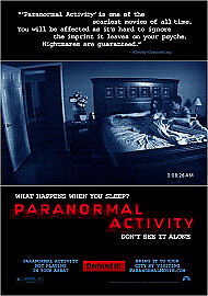 Paranormal Activity (DVD, 2010) New and sealed E146