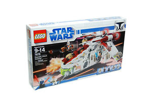 Lego-Star-Wars-Republic-Attack-Gunship-7676-Plo-Koon-Mini-Figure-Not-Included
