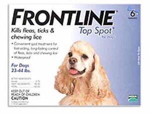 Merial Frontline Top Spot 3 Pack For Dogs 23 - 44 lb