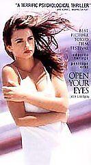 Open-Your-Eyes-VHS-Still-Sealed-1999-Spanish-Penelope-Cruz-Eduardo-Noriega