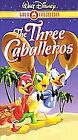The Three Caballeros (VHS, 2000, Gold Collection)