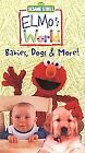 Elmos World - Babies, Dogs  More (VHS, 2000)