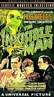 The Invisible Man (VHS, 1991)