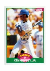 f42ebab4c8 1989 Score Ken Griffey #100T Baseball Card for sale online   eBay