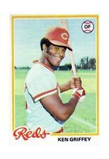 8f07987798 1978 Topps Ken Griffey Cincinnati Reds #80 Baseball Card for sale ...