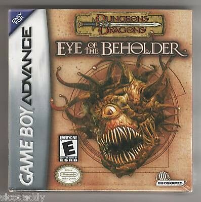 Dungeons and Dragons: Eye of the Beholder for Nintendo Game Boy Advance