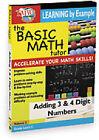 Basic Math Tutor - Adding 3 And 4 Digit Numbers (DVD, 2011)