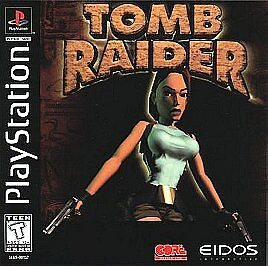 Tomb Raider Featuring Lara Croft Sony Playstation 1 1996 For