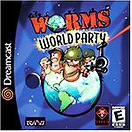 Worms world party sega dreamcast 2001 ebay gumiabroncs Choice Image
