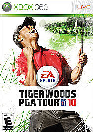 XBOX 360 TIGER WOODS PGA TOUR 10 NEW GOLF VIDEO GAME 2010