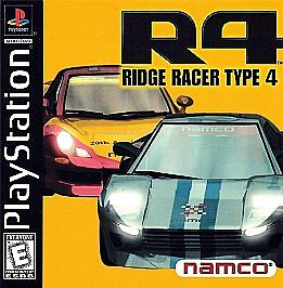 ridge racer 4 ps1 box