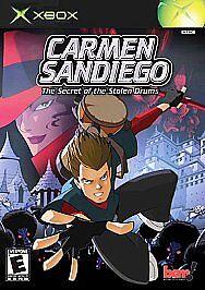 Carmen-Sandiego-The-Secret-of-the-Stolen-Drums-Xbox-NEW
