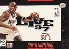 NBA Live 97 (Super Nintendo Entertainment System, 1996)