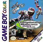 Championship Motocross 2001 Featuring Ricky Carmichael (Nintendo Game Boy Color, 2000)