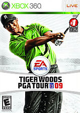 Tiger Woods PGA TOUR 09 XBOX 360! GOLF, WENTWORTH, DRIVE, FUN FAMILY GAME!