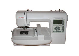 janome memory craft 200e computerized sewing embroidery. Black Bedroom Furniture Sets. Home Design Ideas