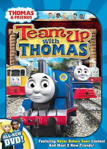 thomas and friends team up with thomas dvd 2009 ebay