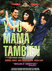 NEW-Y-Tu-Mama-Tambien-DVD-Spanish-SEALED-WS-FS-erotic