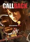 Call Back (DVD, 2009)