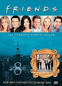 Friends-The-Complete-Eighth-Season-DVD-2004-4-Disc-Set-DVD-2004