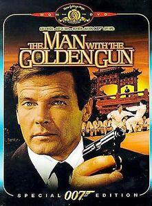 MAN WITH THE GOLDEN GUN (DVD, 2000)