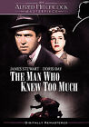 The Man Who Knew Too Much (DVD, 2006, Anamorphic Widescreen) (DVD, 2006)