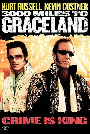 3000 Miles to Graceland (DVD, 2001)