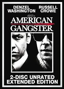 American-Gangster-DVD-2008-2-Disc-Set-Brand-New-Denzel-Washington