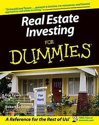 Real-Estate-Investing-For-Dummies-by-Robert-S-Griswold-and-Eric-Tyson-2004-Paperback-Eric-Tyson