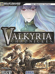 Valkyria-Chronicles-Official-Strategy-Guide-by-Bradygames-and-Casey-Loe-2008-Paperback-Bradygames