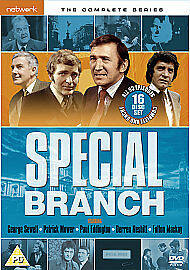 SPECIAL BRANCH the complete series 1 - 4 box set. 16 discs. New sealed DVD