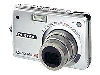pentax pentax optio a10 8 0mp digital camera silver ebay rh ebay com Pentax Optio 60 Pentax Optio P80