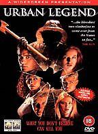Urban Legend [DVD] [1999], Excellent DVD, Tara Reid, Alicia Witt, Rebecca Gayhea