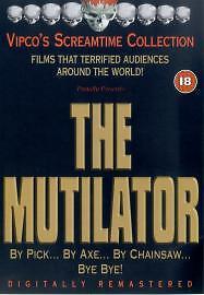 The Mutilator (DVD, 2003, Extreme Version) Buddy Cooper Video Nasty