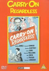 Carry on Regardless  DVD Sid James Kenneth Connor Charles Hawtrey Joan Sims - <span itemprop=availableAtOrFrom>Norwich, United Kingdom</span> - Carry on Regardless  DVD Sid James Kenneth Connor Charles Hawtrey Joan Sims - Norwich, United Kingdom